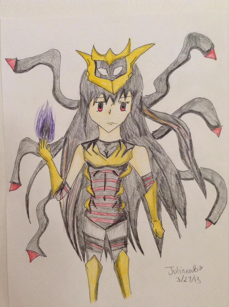 Pokemon Giratina Gijinka by MegareeCrystal