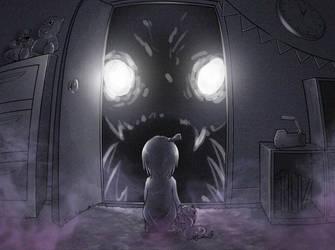 closet monster by KickTyan