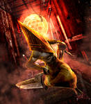 SILENT HILL Red pyramid thing