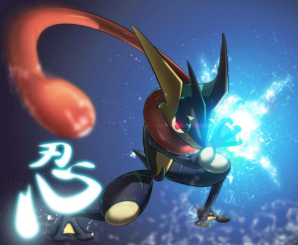 Mizu No Shinobi Greninja By KickTyan On DeviantArt