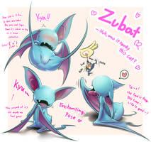My Zubat is so cute by KickTyan