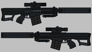 Shadowrun Rifle