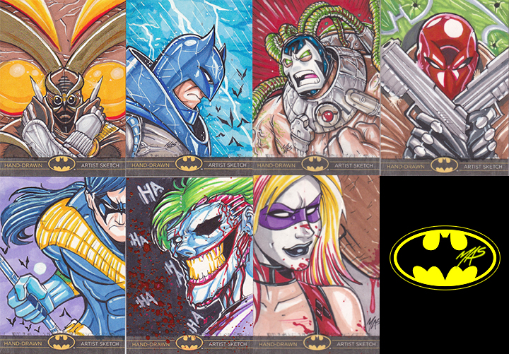 Batman: The Legend Artist Proofs Selling Info by theMASman