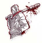 INKTOBER - Walking Dead: Negan