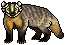 Badger Sprite by Khamisu