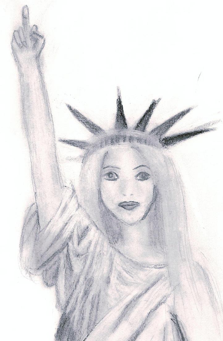 Statue of Liberty Drawing Statue of Liberty Drawing Easy