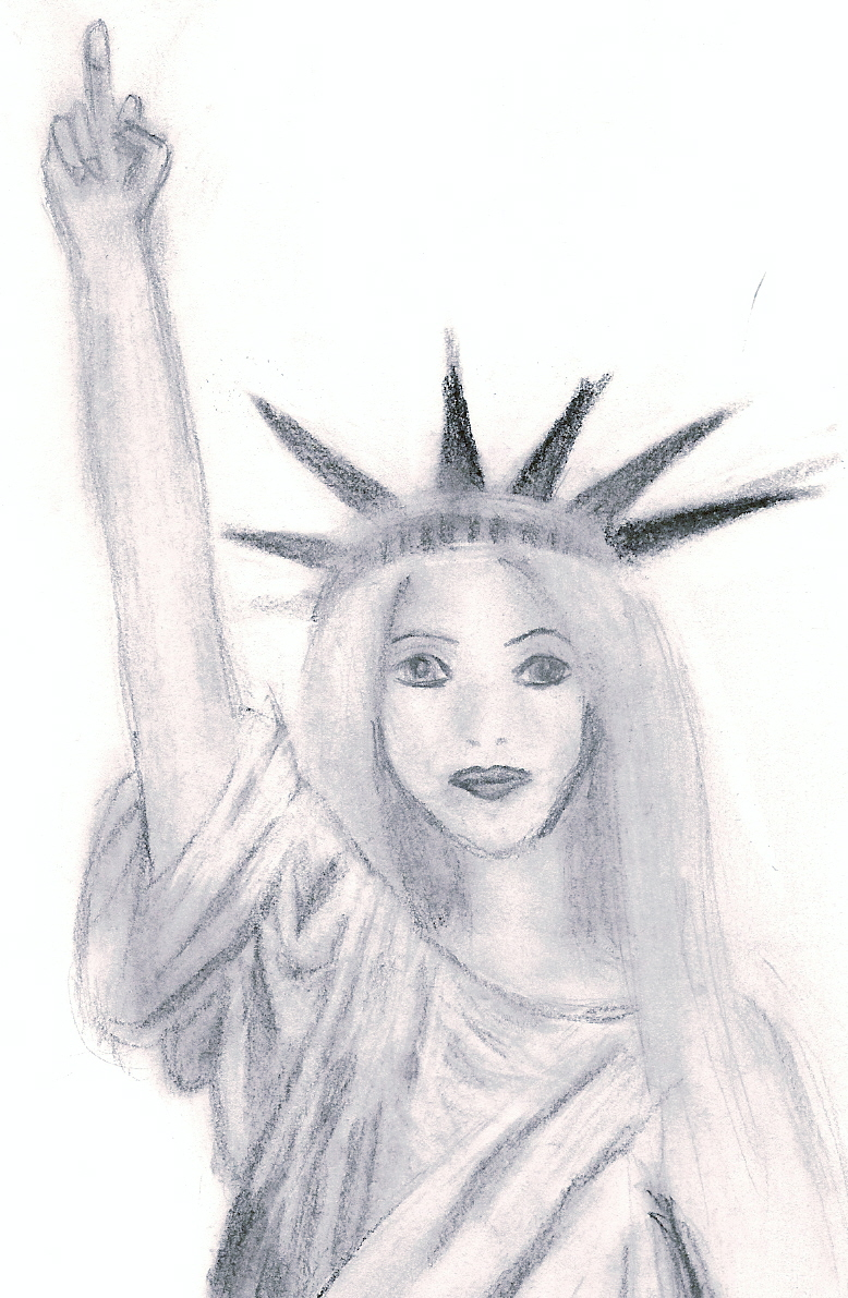 statue of liberty sketch by sdrawrof kniht