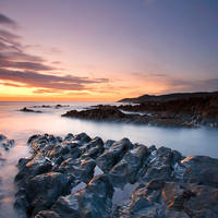 Last light on Mortpoint by Andyw01