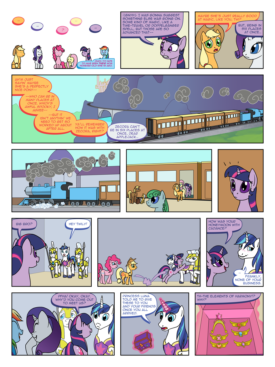 FiM: TNtMD - Page 08: It's funny because XXX by ArofaTamahn