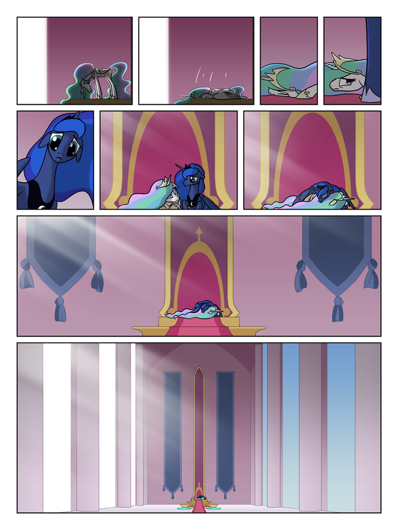 FiM TNtMD - Page 78: Everything'll be Fine--Right? by ArofaTamahn
