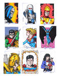 DC Legacy Sketch Cards A