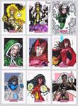 Women of Marvel Sketch Cards B