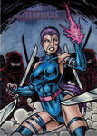 MM2 Psylocke Artist Proof