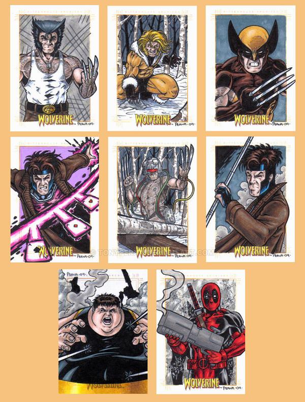 X-Men Origins Wolverine Cards C by tonyperna