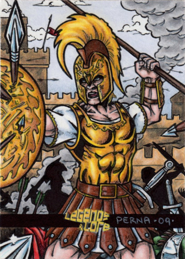 achilles epic hero Free and custom essays at essaypediacom take a look at written paper - comparing and contrasting beowulf and achilles as epic heroes.
