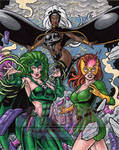 Women of Marvel X-Women AP by tonyperna