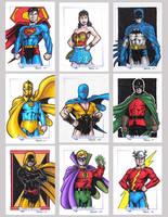 DC Legacy Sketch Cards G