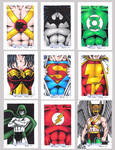 DC Legacy Sketch Cards H