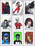 DC Legacy Sketch Cards M