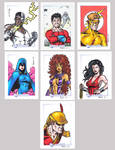 DC Legacy Sketch Cards P