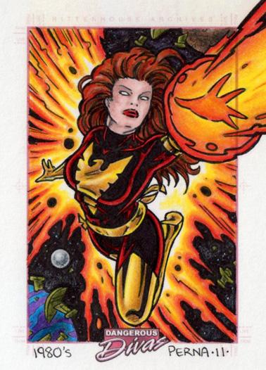 Dark Phoenix Dangerous Divas by tonyperna