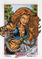 Tigra Dangerous Divas by tonyperna