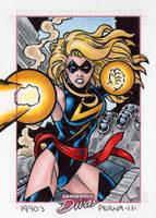 Ms Marvel Dangerous Divas by tonyperna