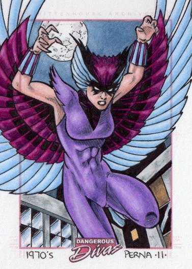 Deathbird Dangerous Divas 1 by tonyperna