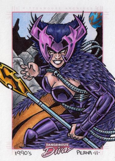 Deathbird Dangerous Divas 2 by tonyperna