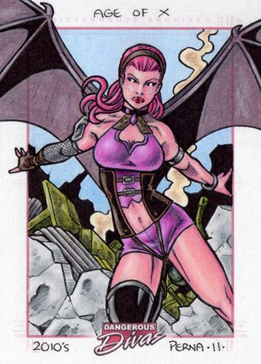 Pixie Dangerous Divas by tonyperna
