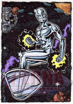 Silver Surfer Sketch Card
