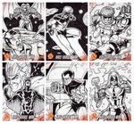 Kree Skrull War Sketch Cards 1