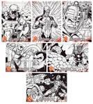 Kree Skrull War Sketch Cards 2