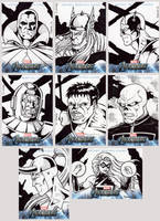 Avengers Assemble Sketch Cards 1 by tonyperna