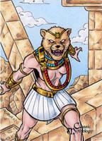 Sekhmet - Classic Mythology by tonyperna