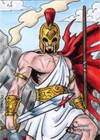 Ares - Classic Mythology by tonyperna