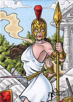 Athena - Classic Mythology by tonyperna