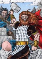 Thor - Classic Mythology by tonyperna