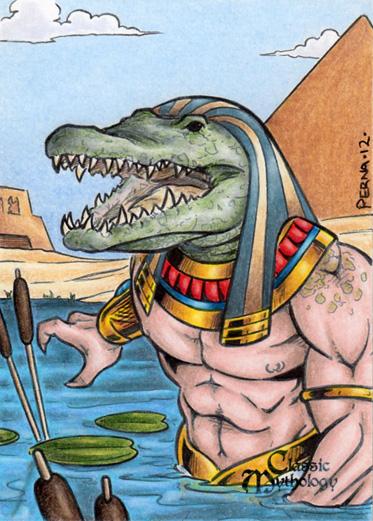 Sobek - Classic Mythology by tonyperna