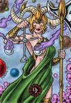 Dark Zodiac Libra by tonyperna
