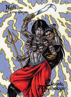 Kali - Classic Mythology by tonyperna