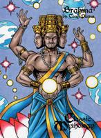 Brahma - Classic Mythology by tonyperna