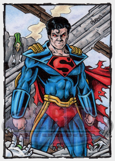 Superboy Prime PSC by tonyperna