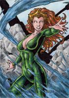 DC Comics 'The New 52' - Mera by tonyperna