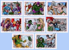 Marvel's Greatest Heroes: Avengers 6 by tonyperna