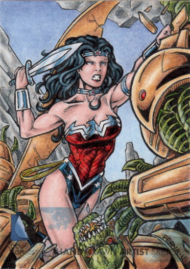 DC Comics 'The New 52' - Wonder Woman by tonyperna