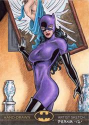 Batman The Legend - Catwoman by tonyperna