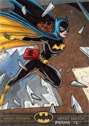 Batman The Legend - Batgirl by tonyperna