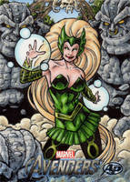 Avengers Assemble - Enchantress AP by tonyperna