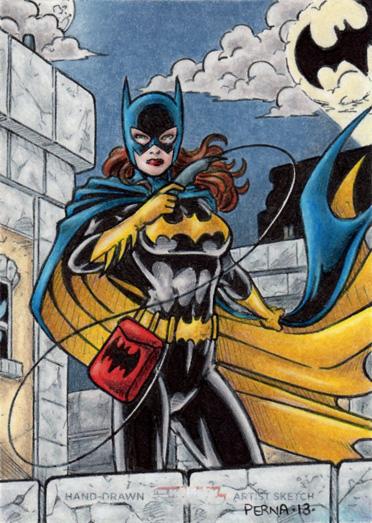 DC: Women of Legend - Batgirl by tonyperna